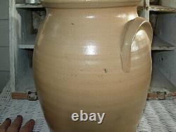 1984 Beaumont Pottery/ York, Maine Stoneware Crock Signed Dove Bird EARLY JB