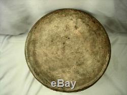 19th Century Ohio 3 Gal Tornado Stoneware Crock
