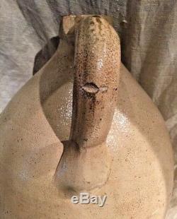 3 Gallon New York Stoneware Co Bird Jug Antique American Stoneware Cobalt Bird