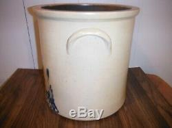 6 Gallon Stoneware Crock With Chicken Pecking Corn
