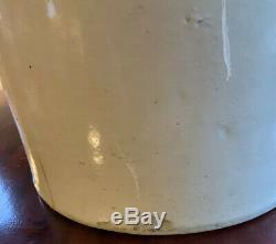 8 Gallon Bee Sting Stoneware Crock withHandles Red Wing Pottery Antique Primitive