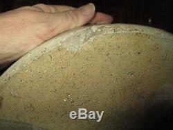 Antique 4 Gallon Stoneware Lazy 8/beesting Jug Crock, Turkey Droppings, Redwing