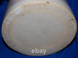 ANTIQUE RED WING 2 GALLON ZINK GLAZE CROCK UNION STONEWARE 3 Gal Lid 4 INCH WING
