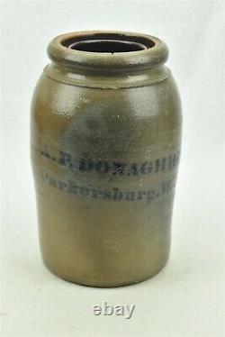 A. P. Donaghho Crock Parkersburg, WV West Virginia Stoneware