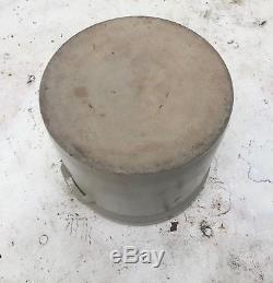 American Salt Glaze/Cobalt Decorated Stoneware Crock