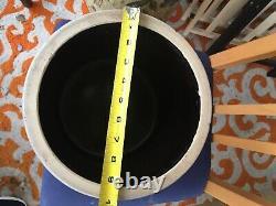 American stoneware handled crock Frank B Norton Worcester, Mass 2 gallon crock