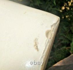 Antique 1910s Era Red Wing Pottery Stoneware Large Wing 2 Gal Crock Jug Churn