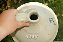 Antique 1910s Red Wing Pottery Stoneware 3 Gal Shoulder Jug Crock Churn