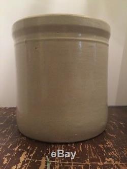 Antique 3 Gallon Crock Western Stoneware Company Monmouth Illinois