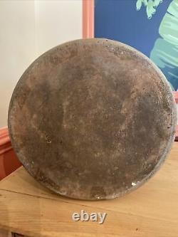 Antique 3 Gallon Salt Glazed Crock Cobalt Blue Dragonfly Stoneware