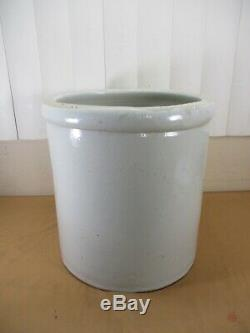 Antique 5 Gallon with HUGE 5 Red Wing Union Stoneware Pottery Crock -BEAUTIFUL