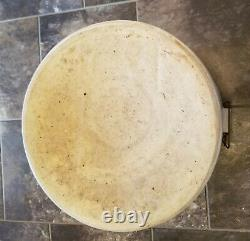 Antique 6 Gallon Red Wing Union Stoneware Pottery Crock With 2 wing