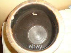 Antique A P Donaghho Parkersburg, West Virgina Stoneware Crock NO. 3