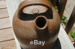 Antique Baltimore Stoneware Crock M. Duffy &co 164 Cathedral Ave Baltimore 11 T