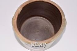 Antique Cobalt Blue Bee Sting 2 Gallon Salt Glazed Stoneware Crock
