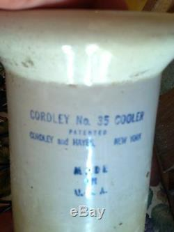 Antique Cordley Cooler Water Dispenser From Holmes County, Mississippi Courthouse