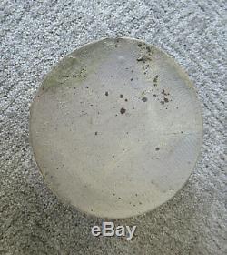 Antique Crock Stoneware 1/2 Gal Cobalt Slip Salt Glaze Att Strasburg, VA