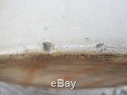 Antique Crock Stoneware 5 Gallon Whiskey Jug Primitive Moonshine B8762