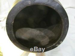 Antique D. Zittel Waco Kentucky Pottery Primitive Stoneware 5 Gallon Crock
