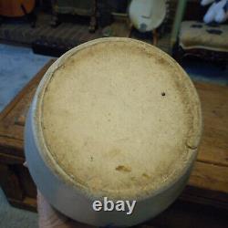 Antique Evan P Jones Gallon Stoneware Pottery Double Earred Crock Pittston Pa Pa