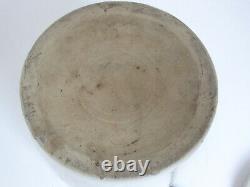 Antique Heinz's Apple Butter Weir Stoneware Crock Jar Wire Handle c. 1890's large