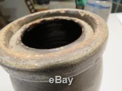 Antique John P. Eberhart New Geneva, PA Stoneware 8 1/2 Wax Sealer