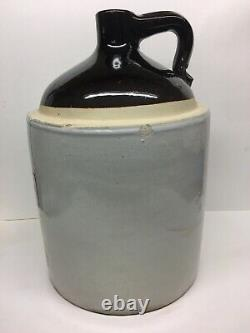 Antique Mercer Bottling Co Trenton New Jersey Large Stoneware Jug Crock 3 Gallon