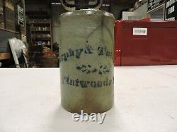 Antique Murphy & Townson Flatwoods, PA. Stoneware Crock, Fayette County (F)