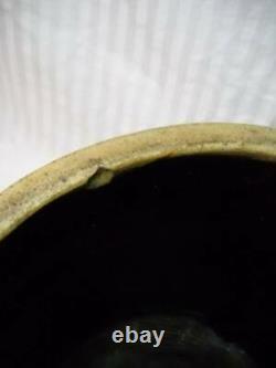 Antique Primitive 4 Gallon Stoneware Bee Sting Crock Great Condition