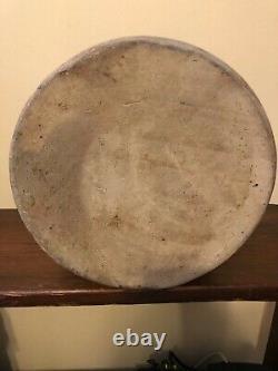 Antique Primitive E. S. & B. Salt Glazed Stoneware 2 Gallon Crock New Brighton, PA