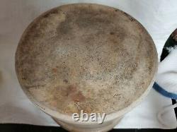 Antique Primitive Salt Glazed Stoneware E. & L. P. NORTON BENNINGTON, VT Crock