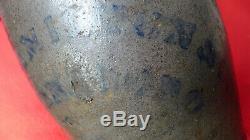 Antique Primitive Salt Glazed Stoneware Jug HAMILTON & Co Greensboro