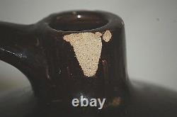 Antique Primitive White Hall Illinois S. P. &S Stoneware Crock Art Pottery Jug Jar