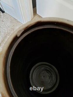 Antique Red Wing 5 Gallon Salt Glaze Bee Sting Stoneware Churn
