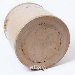 Antique Red Wing Salt Glaze Stoneware Crock 3 Gallon Bee Sting Target Lazy Eight