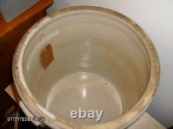 Antique Red Wing Union Stoneware #8 crock with bale handles