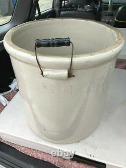 Antique Red Wing Union Stoneware Crock 12 gallon Crock With Side Carry Handles VGC
