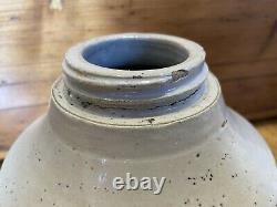 Antique Red Wing Union Stoneware Crock Mason Fruit Jar Zink Lid Canning