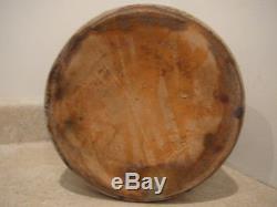 Antique Stoneware 3 Gal Crock Cobalt Blue Hen Pecking Corn Ear Handles