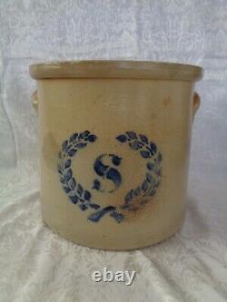 Antique Stoneware 4 Gallon Crock
