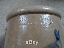 Antique Stoneware Bird Crock 1 gal Brady & Ryan Ny