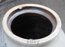 Antique Stoneware Brooklyn Crock, Very Nice