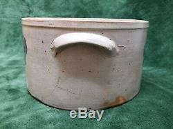 Antique Stoneware Cake Crock Attributed To Hermann Of Baltimore