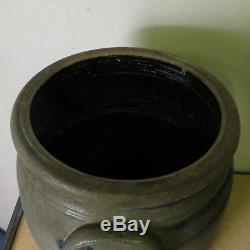 Antique Stoneware Crock 6 Gallon John P. F. Bernart New Geveva Fayette Co PA Pot