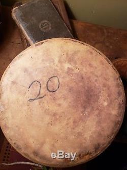 Antique Stoneware Crock Cobalt Bird-on-branch White & wood binghamton ny. 4gal