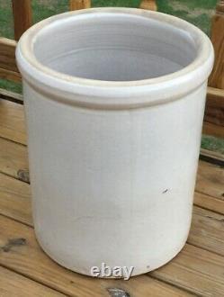 Antique Stoneware Crock EAGLE No. 12 Salt Glaze Huge 12 Gallon Crock 19T 16W