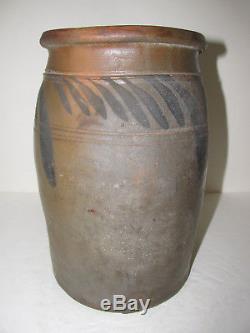 Antique Stoneware Crock, Jar, Origin Unknown
