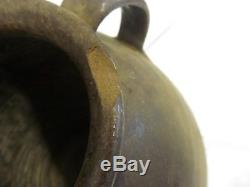 Antique Stoneware-Early Catawba Valley, NC Alkaline Glaze crock