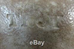 Antique Stoneware Jug, I. Seymore & Co, Troy New York, ovoid, 2 gal