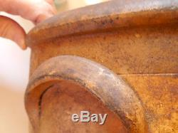 Antique Stoneware Saltglaze Crock #2 Centennial 1876 Bee Sting Primitive Early